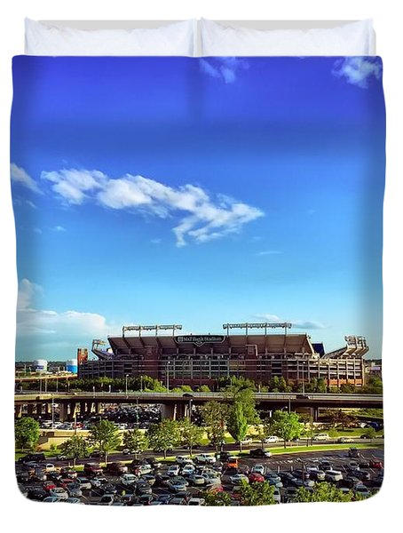 Ravens Stadium Duvet Cover