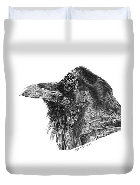 Ravenscroft The Raven Duvet Cover