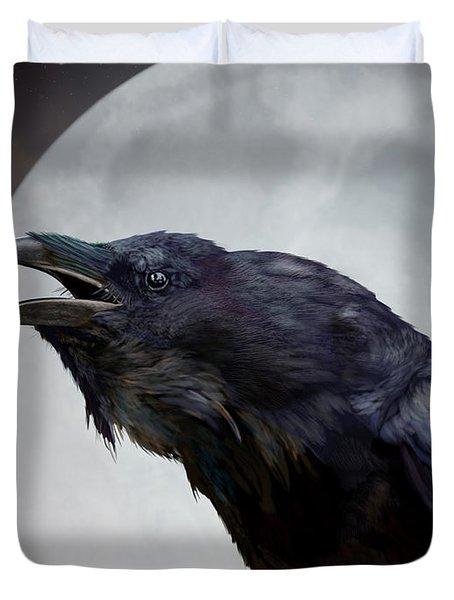Ravensong Duvet Cover