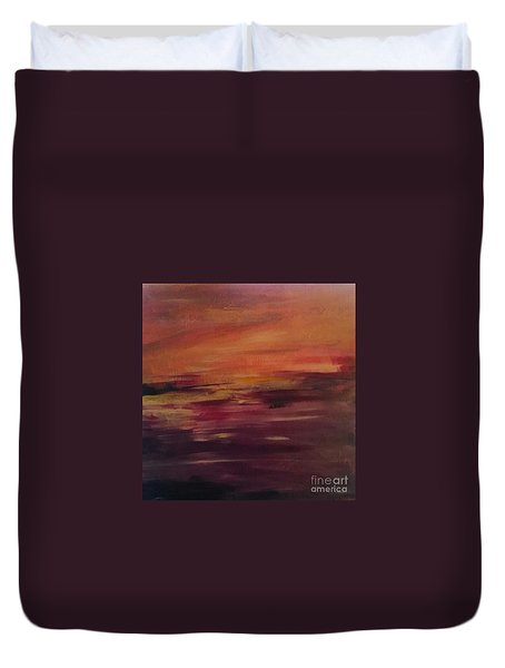 Raw Emotions Duvet Cover