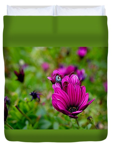 Raw Silk Duvet Cover