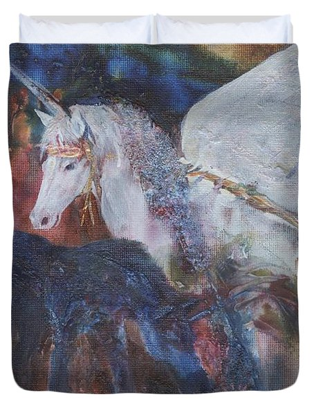 Rayden's Magic Duvet Cover
