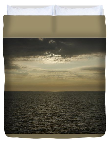 Rays Of Beauty Duvet Cover by Greg Graham