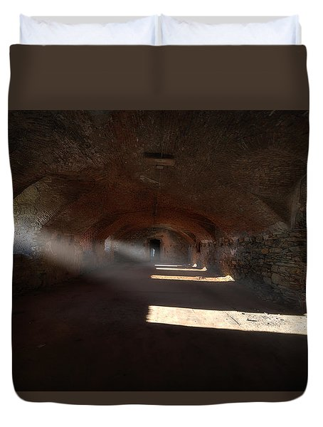Duvet Cover featuring the photograph Rays Of Light - Raggi Di Luce by Enrico Pelos