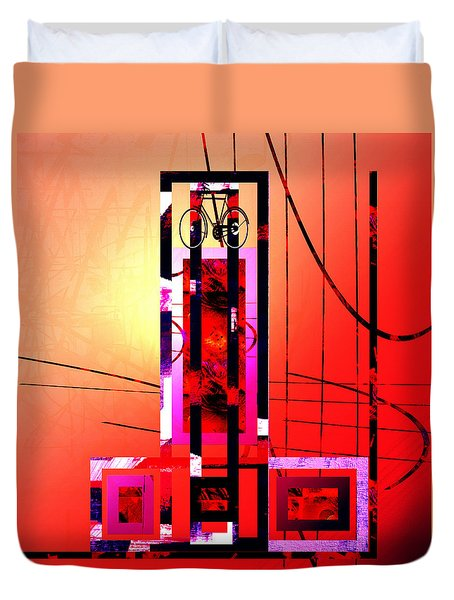 Re-cycled Art Duvet Cover by Andrew Penman
