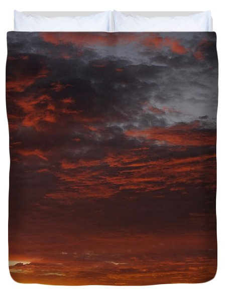 Reach For The Sky 12 Duvet Cover by Mike McGlothlen