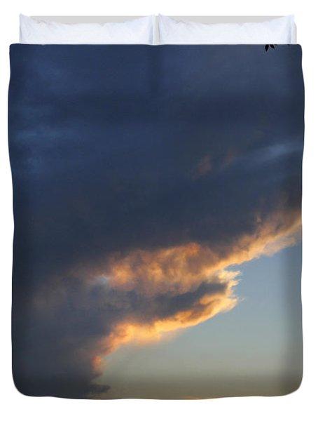 Reach For The Sky 25 Duvet Cover by Mike McGlothlen