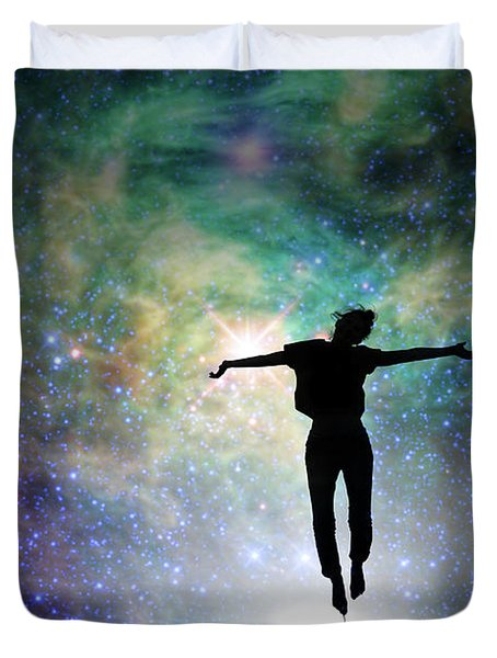 Reach For The Stars Duvet Cover