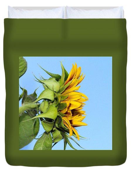Reaching Sunflower Duvet Cover
