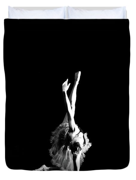 Reaching Ballerina Duvet Cover