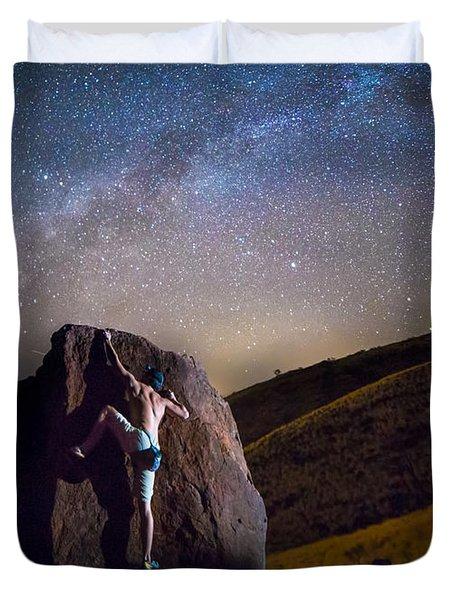 Reaching For The Stars Duvet Cover