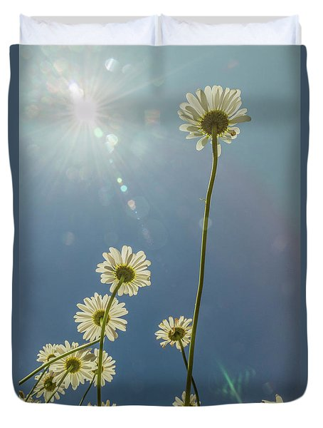 Reaching For The Sun Duvet Cover