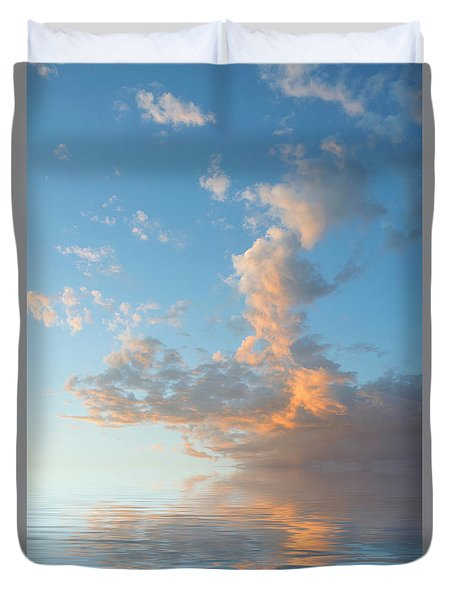 Reaching High Duvet Cover by Jerry McElroy