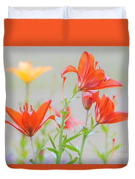 Reaching Higher Duvet Cover