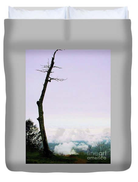 Reaching In The Shenandoah Duvet Cover