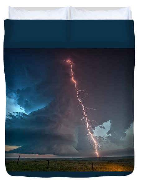Reaching Duvet Cover