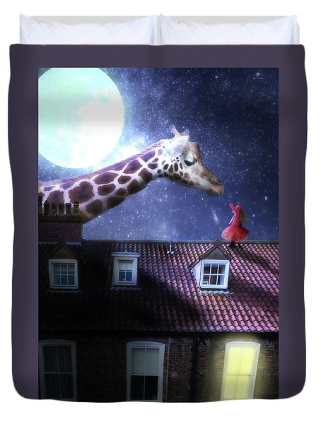 Reaching Out Duvet Cover by Nathan Wright