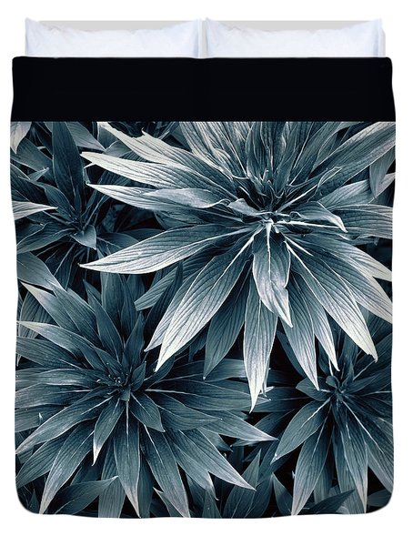 Duvet Cover featuring the photograph Reaching Out by Wayne Sherriff