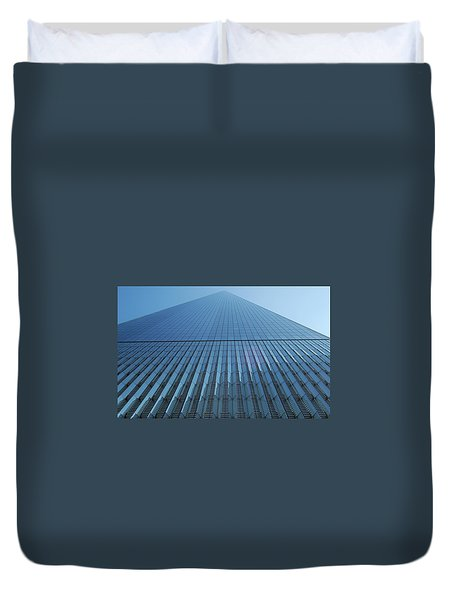 Reaching To Heaven Duvet Cover