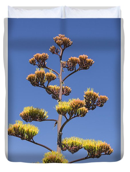 Reaching To The Sky Duvet Cover by Laura Pratt