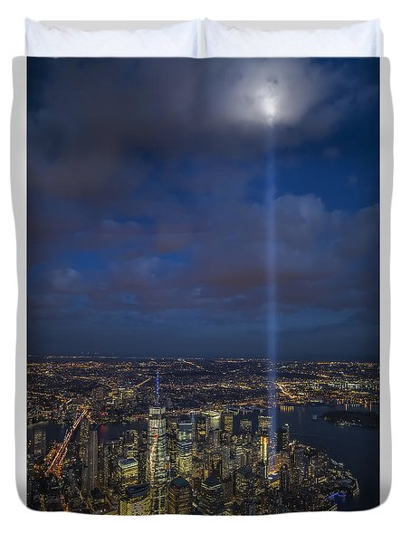 Reaching Up To Heaven Duvet Cover
