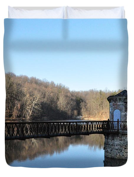 Reading Pa - Antietam Creek Duvet Cover