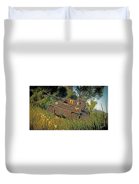 Ready And Waiting Duvet Cover