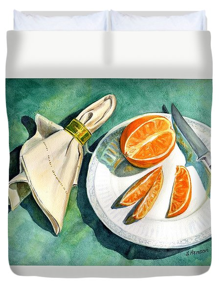 Ready For A Snack Duvet Cover