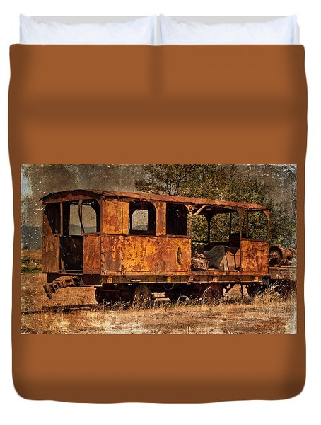 All Aboard Duvet Cover by Thom Zehrfeld