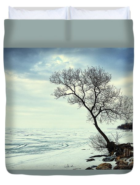 Duvet Cover featuring the photograph Ready For Awakening by Charline Xia