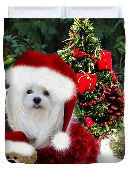 Ready For Christmas Duvet Cover