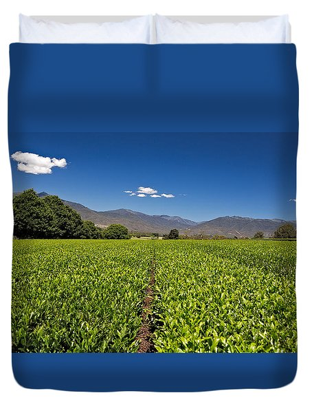 Ready For Harvest Duvet Cover by Mark Lucey