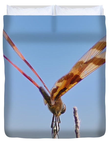 Ready For Take Off Duvet Cover by Bill Cannon