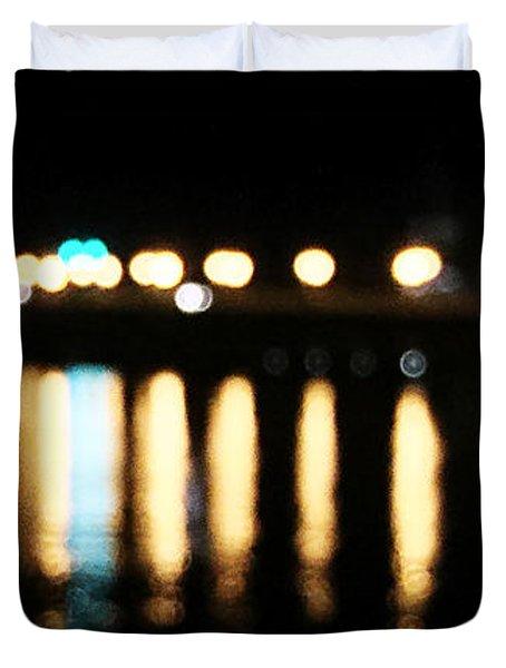 Bridge Of Lions -  Old City Lights Duvet Cover