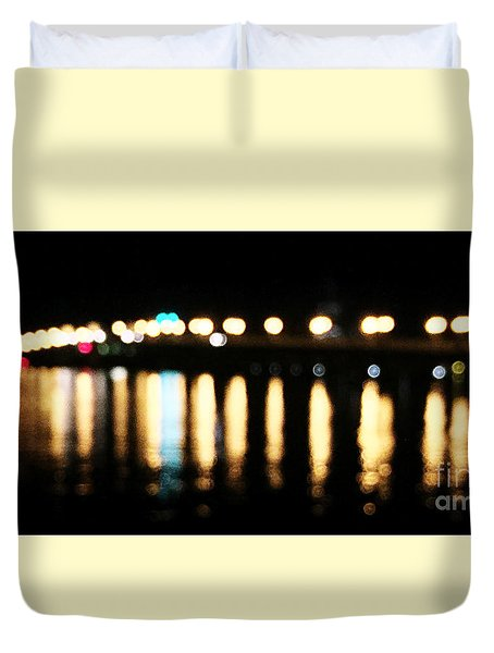 Bridge Of Lions -  Old City Lights Duvet Cover
