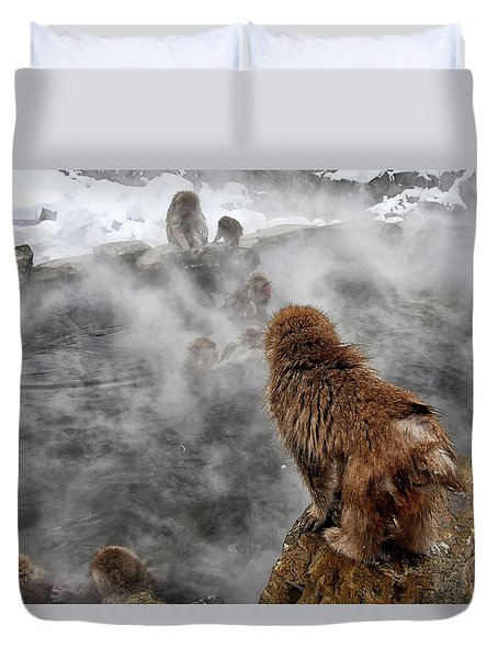Ready For The Plunge Duvet Cover