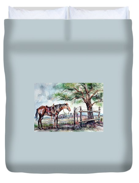 Ready Duvet Cover