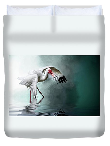Ready Or Not, Here I Come... Duvet Cover
