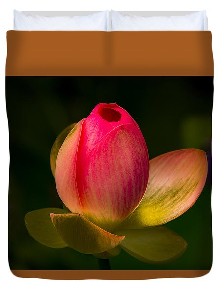 Ready To Bloom Duvet Cover