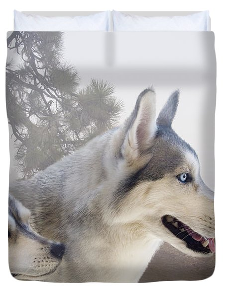 Ready Forthe Chase Duvet Cover