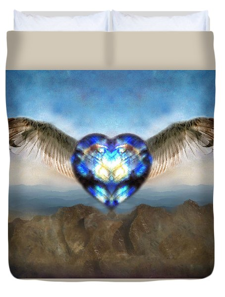 Ready To Fly Duvet Cover