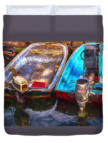 Ready To Go Duvet Cover by Tricia Marchlik