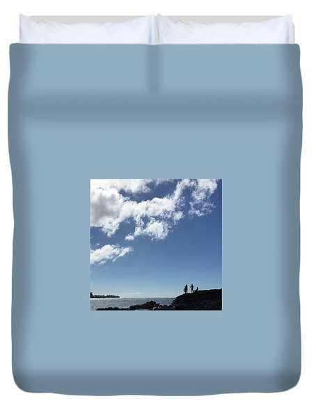 Ready To Jump Duvet Cover