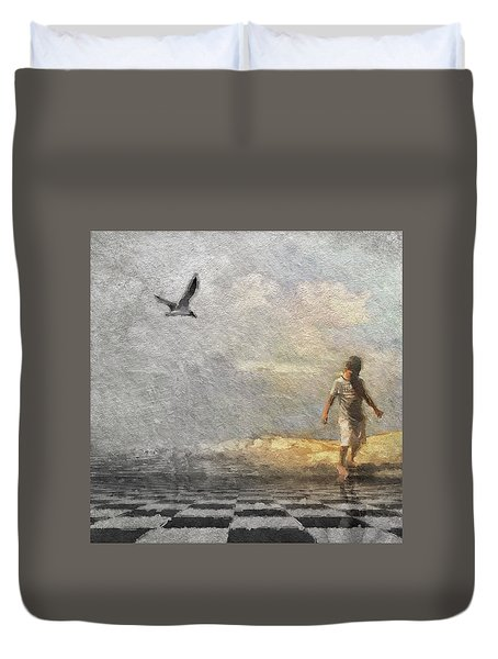 Ready To Play Duvet Cover