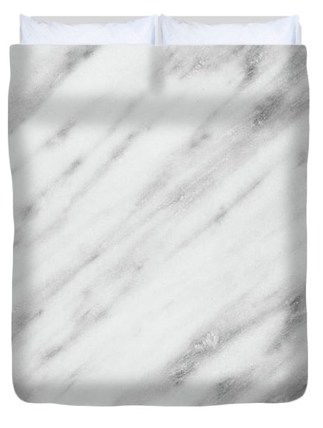 Real Italian Marble And Pink Duvet Cover