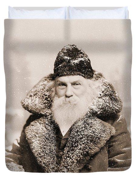 Real Life Santa Claus Duvet Cover
