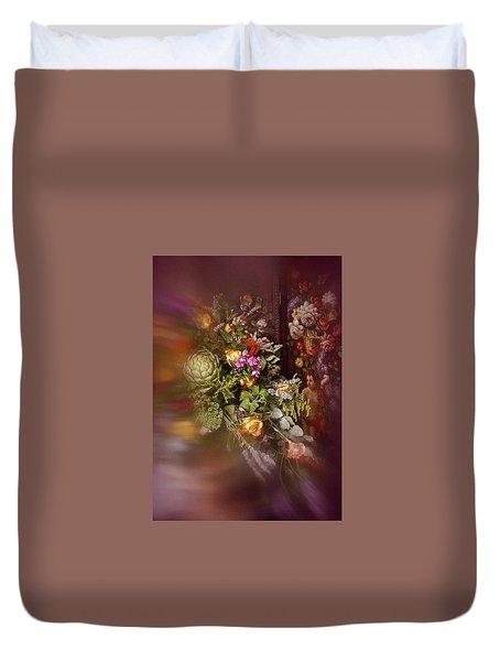 Duvet Cover featuring the photograph Floral Arrangement No. 1 by Richard Cummings