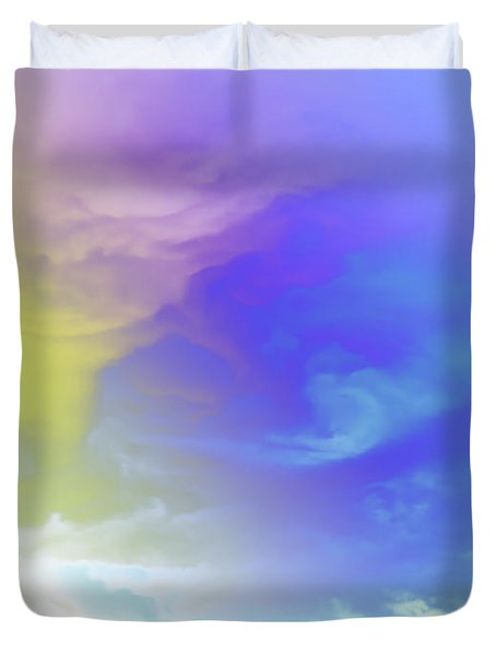Realm Of Angels Duvet Cover