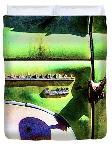Rear View Mirror Duvet Cover