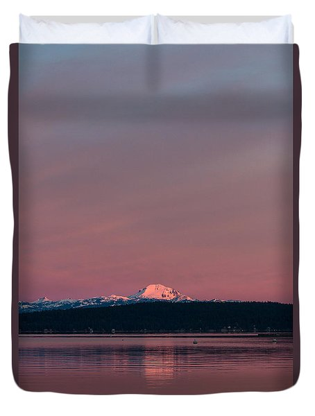 Reason To Get Out Of Bed Duvet Cover by Jan Davies